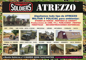Soldiers Atrezzo